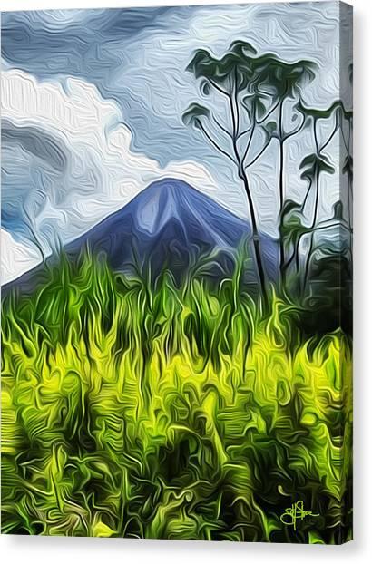 Arenal Volcano Canvas Print - Arenal Volcano by Artistic Photos