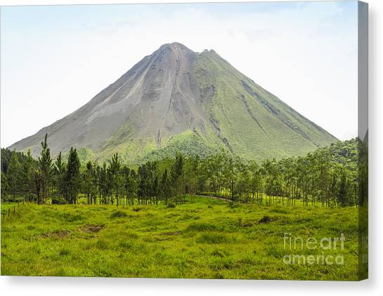 Arenal Volcano Canvas Print - Arenal Volcano by Patricia Hofmeester
