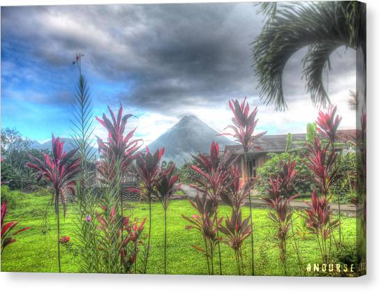 Arenal Volcanoe Canvas Print
