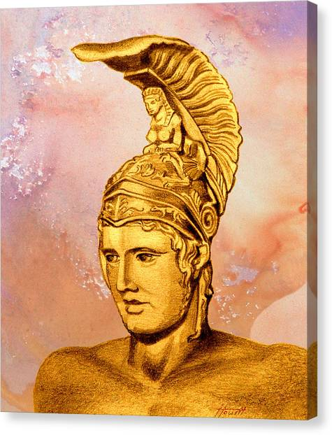 Ares 2 Canvas Print by Patricia Howitt