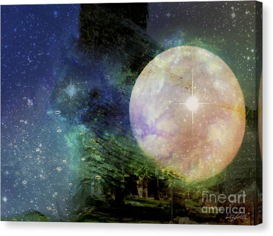 Arianrhod Canvas Print by Liz Campbell