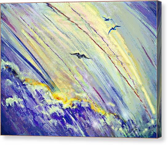 Arising Canvas Print
