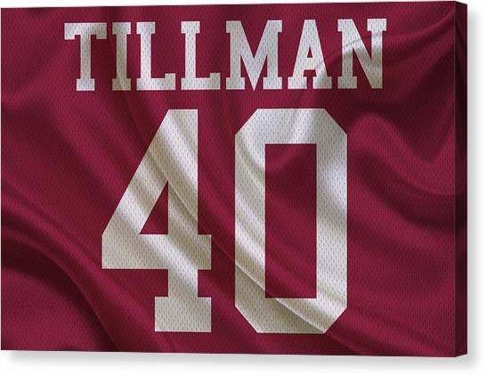 Cardinals Canvas Print - Arizona Cardinals Pat Tillman by Joe Hamilton