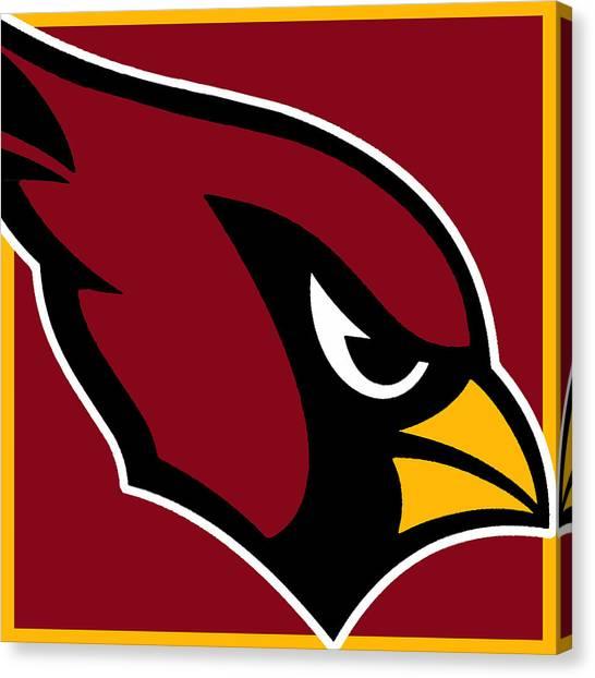 Arizona Cardinals Canvas Print - Arizona Cardinals by Tony Rubino