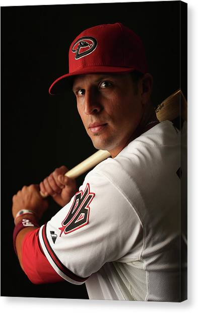 Arizona Diamondbacks Photo Day Canvas Print