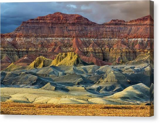 Arid Canvas Print - Arizona Landscape In Glen Canyon by Jaynes Gallery
