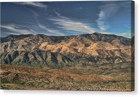Arizona Lonesome Canvas Print by Carolyn Fletcher