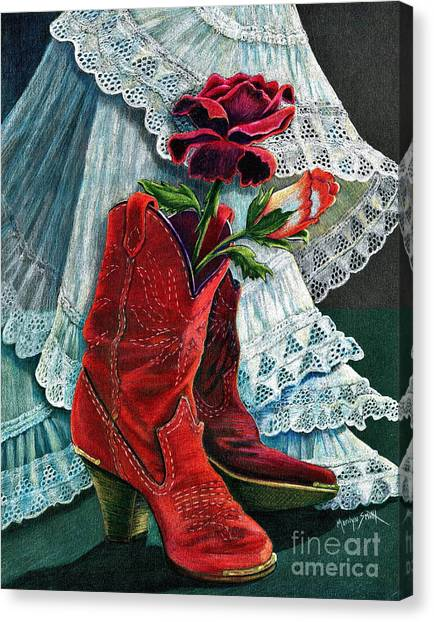 Arizona Rose Canvas Print