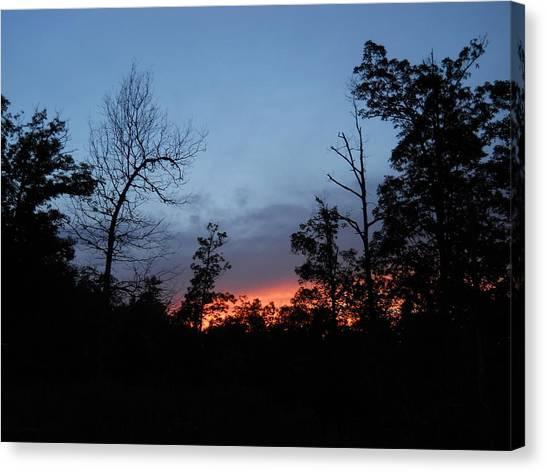 Arkansas Sunset Canvas Print