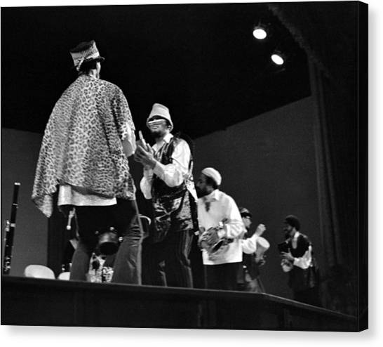 Arkestra Procession 1968 Canvas Print