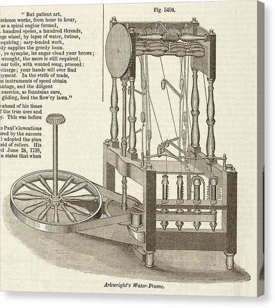 Arkwright\'s Water Frame Photograph by Art And Picture Collection/new ...