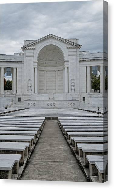 D.c. United Canvas Print - Arlington Amphitheater by Susan Candelario