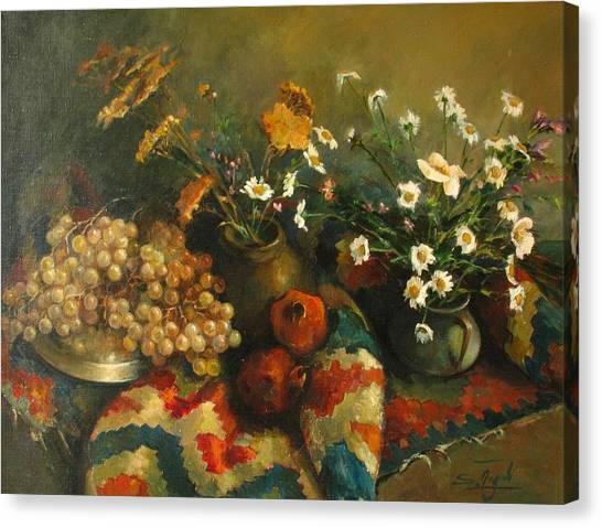 Armenian Still-life Canvas Print