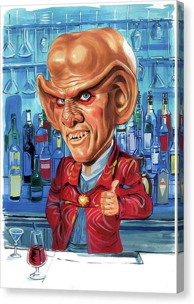 Armin Shimerman As Quark Canvas Print by Art