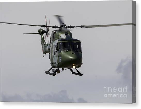 Aac Canvas Print - Army Lynx by J Biggadike
