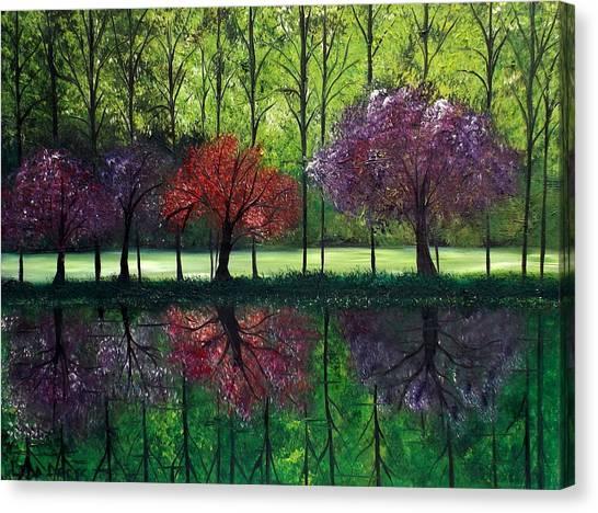 Around Bristol Park Canvas Print
