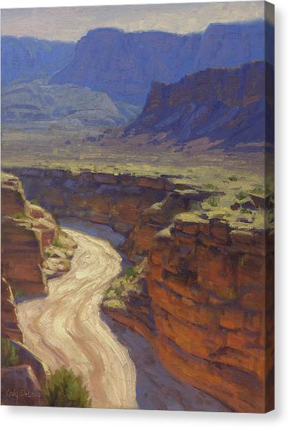 Canyon Canvas Print - Around The Bend by Cody DeLong