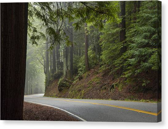 Around The Bend Canvas Print