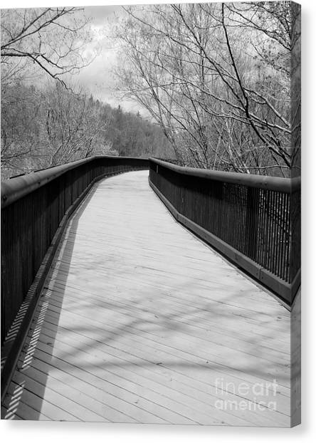 Canvas Print featuring the photograph Around The Bend by Kristen Fox