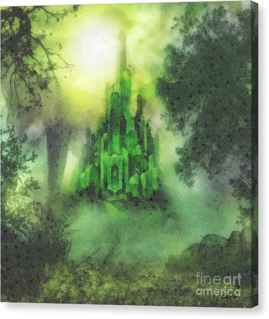 Arrival To Oz Canvas Print
