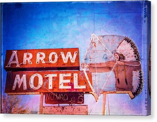 Arrow Motel Canvas Print