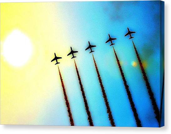 Arrows Canvas Print by Stephen Richards