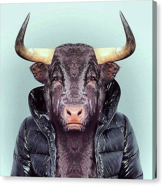 Scarecrows Canvas Print - Art Bull by Marina Boitmane