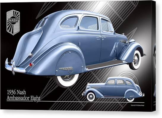 Art Deco Nash Canvas Print