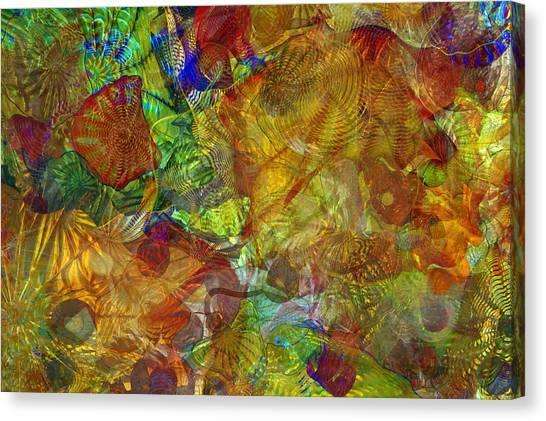 Art Glass Overlay Canvas Print