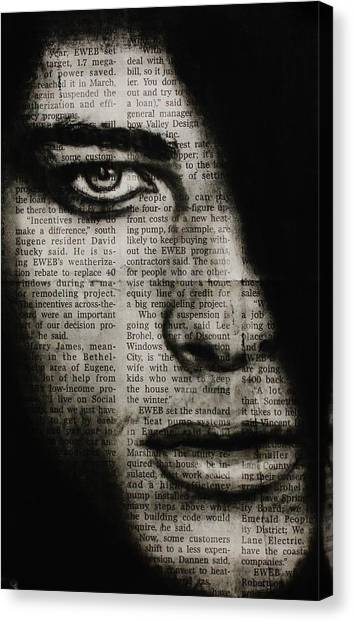 Art In The News 7 Canvas Print