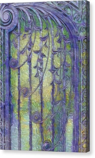 Academic Art Canvas Print - Art Nouvau Door by Jack Zulli