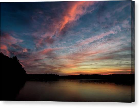 Art Of Dusk Canvas Print