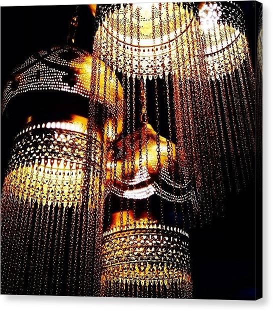Decor Canvas Print - Hanging Lanterns by Heidi Hermes