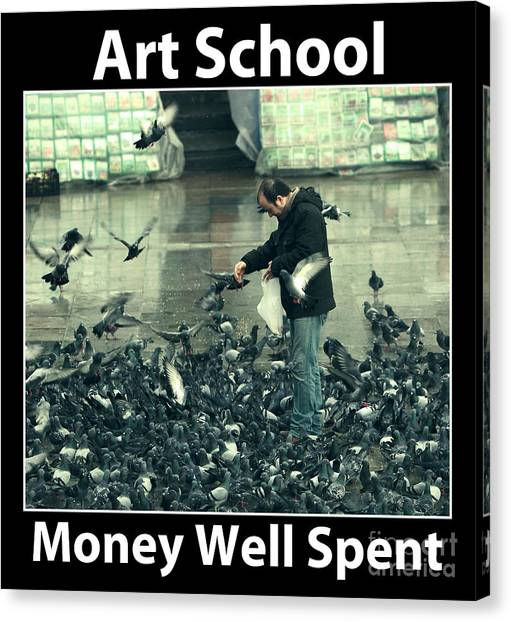 Art School Canvas Print by John Rizzuto