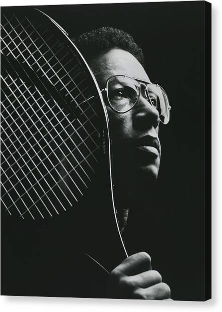 Richmond Virginia Canvas Print - Arthur Ashe by Retro Images Archive