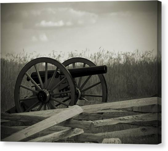 Artillery At Mcpherson Ridge Canvas Print