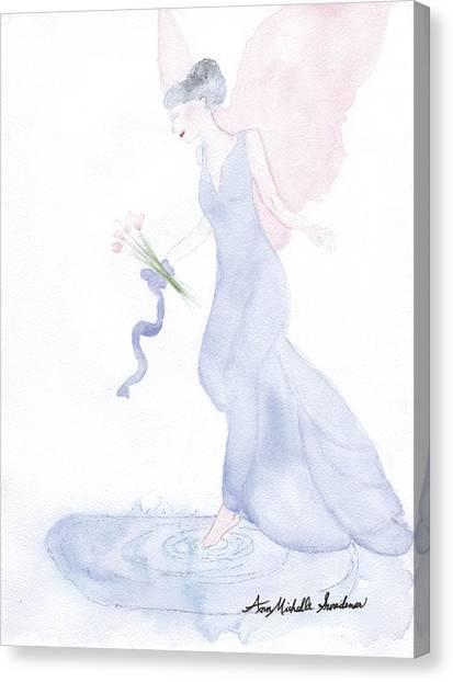 Artist Angel Canvas Print