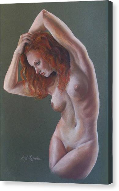 Artistic Nude Canvas Print