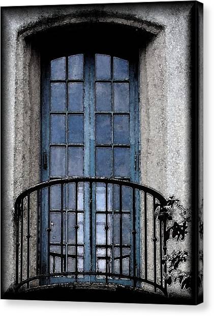Artistic Window Canvas Print