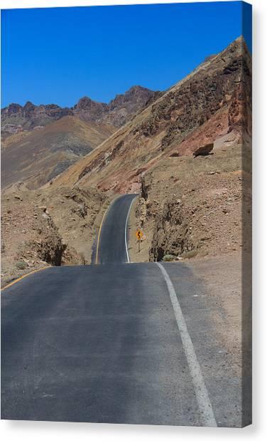 Artist's Road Canvas Print