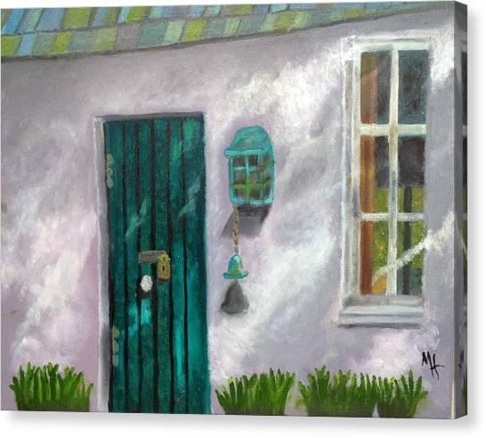 Artist's Studio In The Meadow Canvas Print