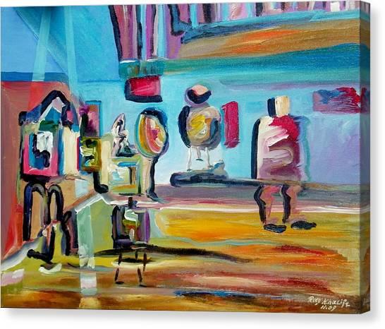 Artist's Studio Canvas Print