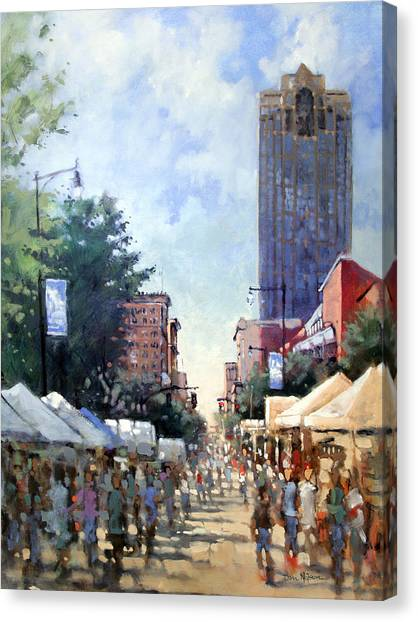 Artsplosure Afternoon Canvas Print