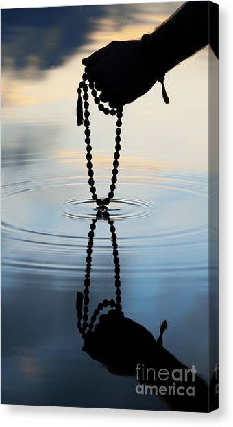 Serenity Prayer Canvas Print - As Above So Below by Tim Gainey