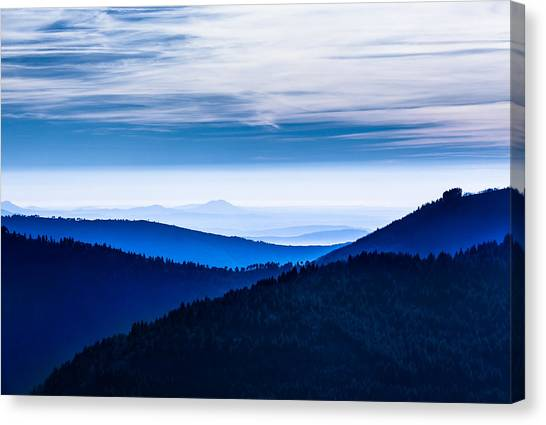 As Far As Our Eye Can See Canvas Print