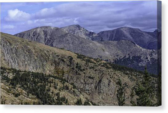 As Far As The Eye Can See Canvas Print by Tom Wilbert