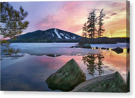 As Seen In Down East Canvas Print
