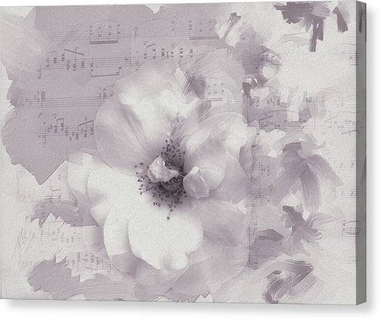 As The Music Fades Canvas Print