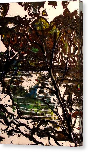 Asain Tree Canvas Print