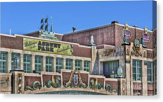 Asbury Park Convention Hall And Paramount Theatre  Canvas Print by Lee Dos Santos